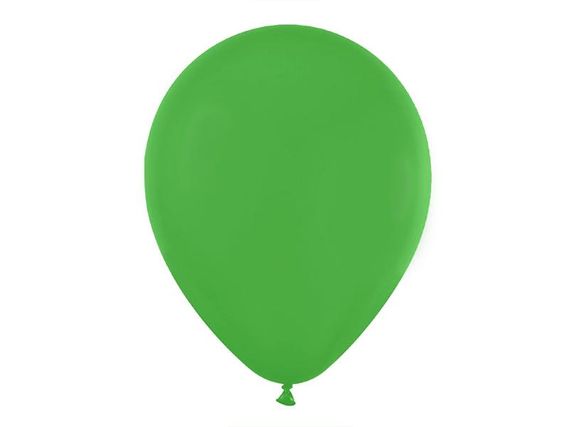 Шарики воздушные матовые (цв. зеленый)
