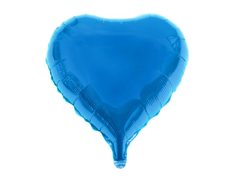 Шары фольгированные d18''/46см (цв. синий)